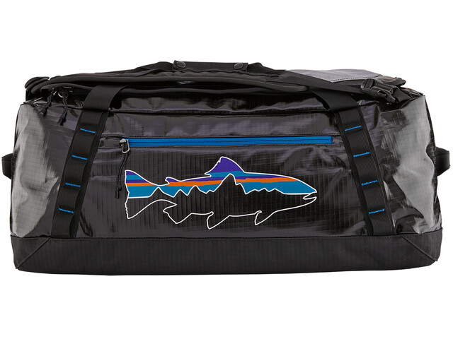 Patagonia Black Hole Duffel 55l, black/fitz trout